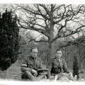 Photo, Keith Officer & Lancelot Duke in the Rhine 1918.