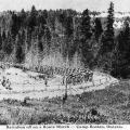 Battalion March at Camp Borden
