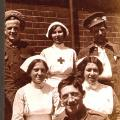 Photo #114 Group of Soldiers and Nurses