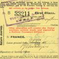 Ticket - November 17, 1916