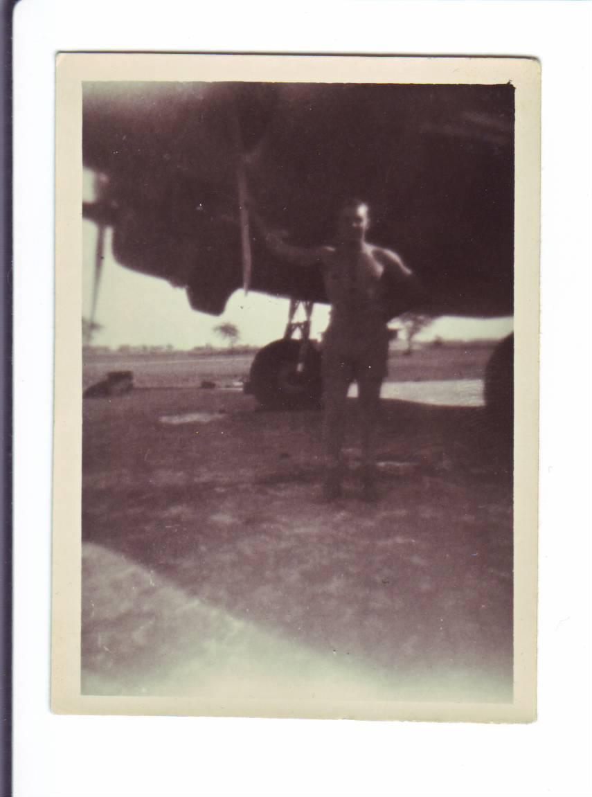 Photo #17 Joseph under Plane Engine