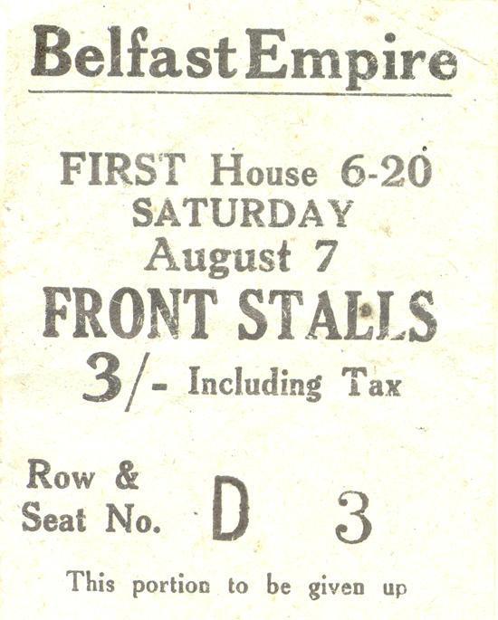 Ticket Stub, 1