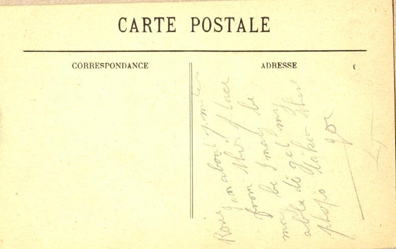 Postcard, back, nd 2