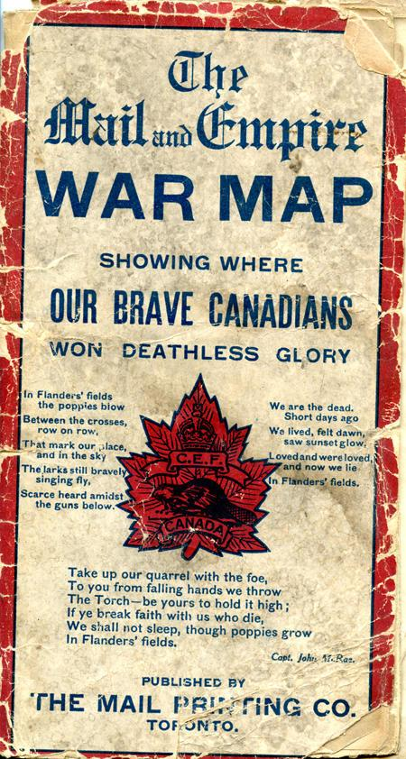 War Map, cover