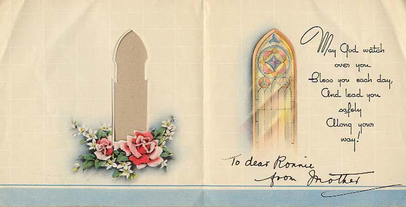 Birthday Card, inside