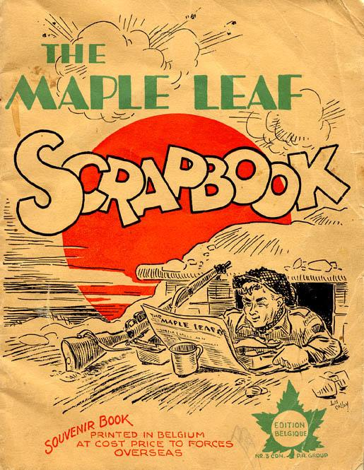 Maple Leaf Scrapbook, front cover
