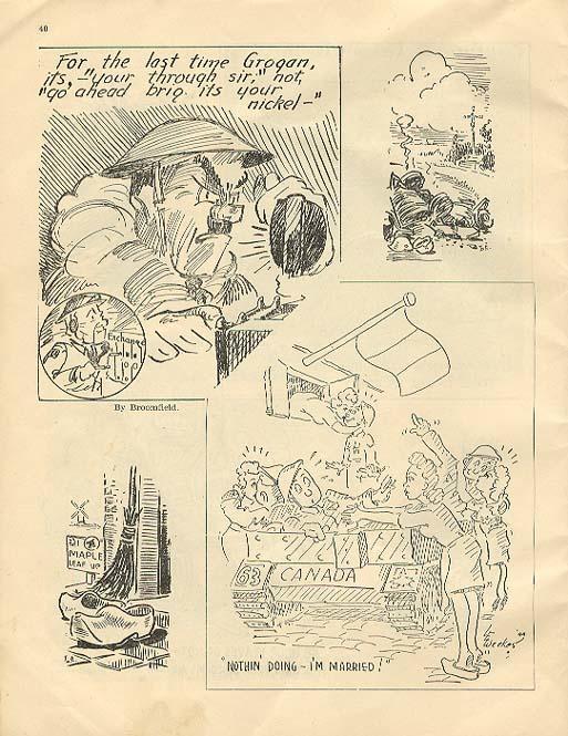 Maple Leaf Scrapbook, pg 40