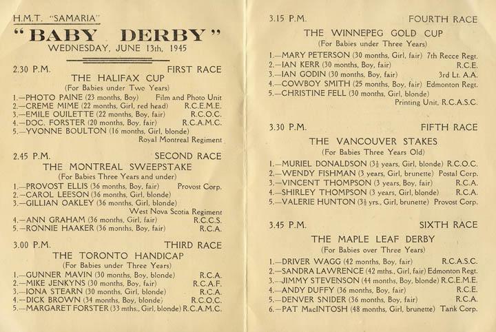 Race Card, inside