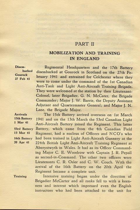 Regimental History, pg 12