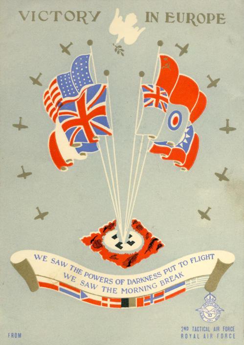 Card - May 8, 1945 - 1