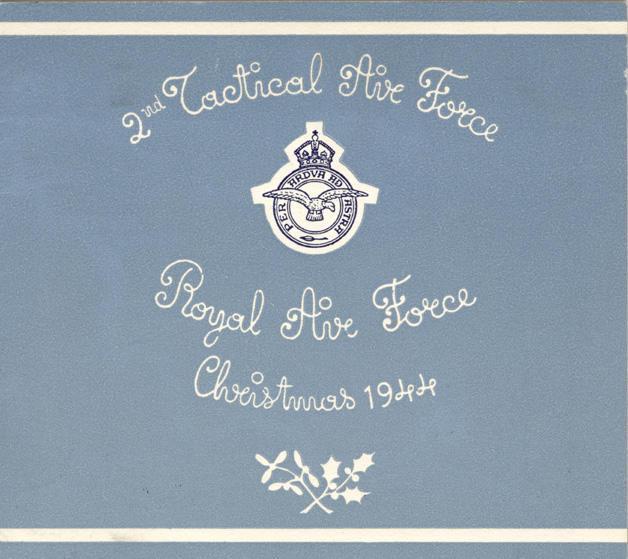 Xmas Card 1944 - 1