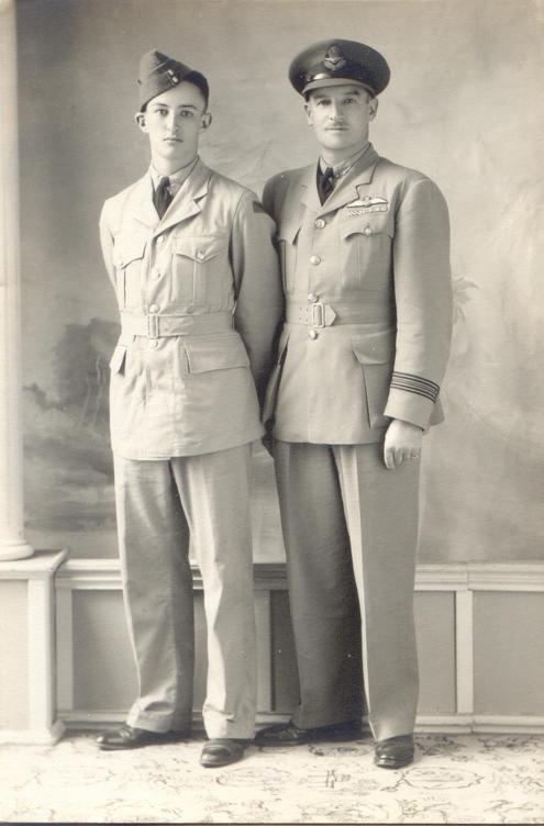 Photo, nd 7, Lancelot Duke & Son Peter.