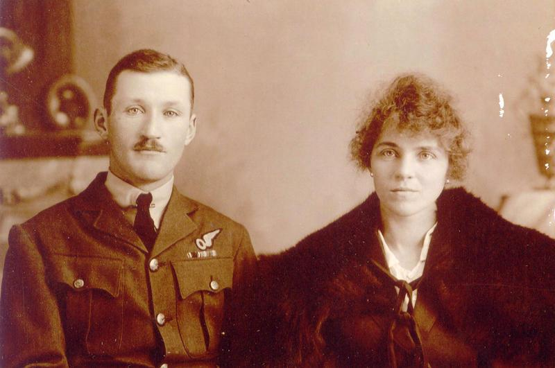Joseph Roy Ferguson and Flossie, nd.