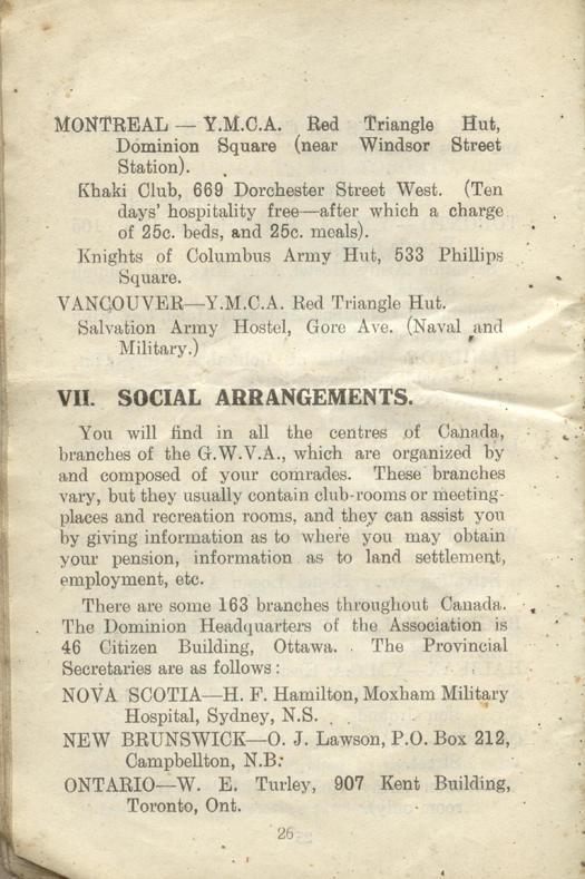 Returned Soldiers Handbook, nd, page 26