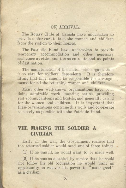 Returned Soldiers Handbook, nd, page 50