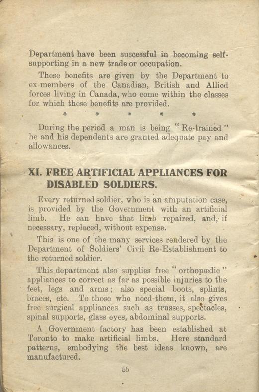Returned Soldiers Handbook, nd, page 56
