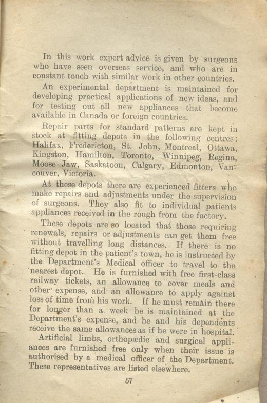 Returned Soldiers Handbook, nd, page 57