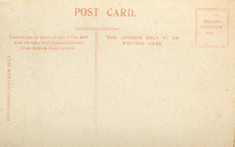 Postcard, nd, Empress of France, back