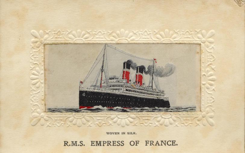 Postcard, nd, Empress of France, front
