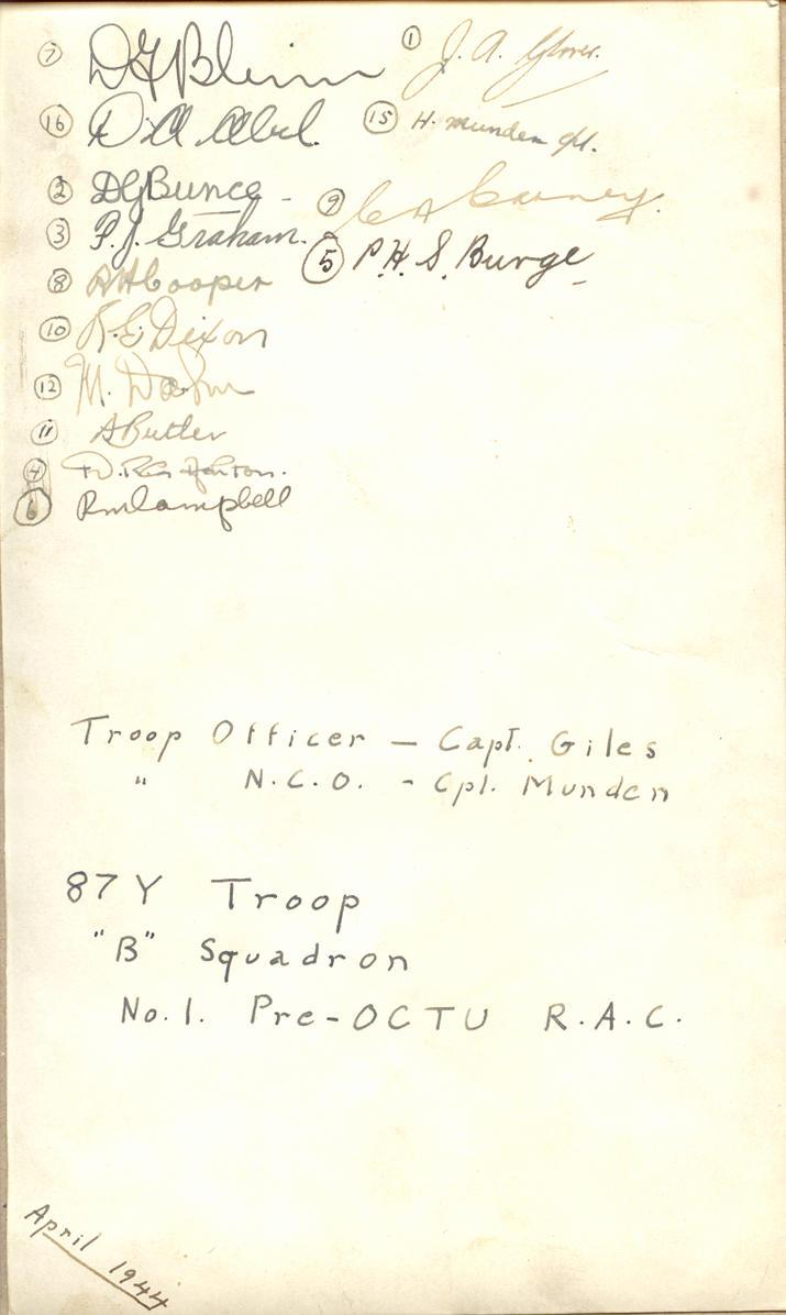 Troop Photo (back)