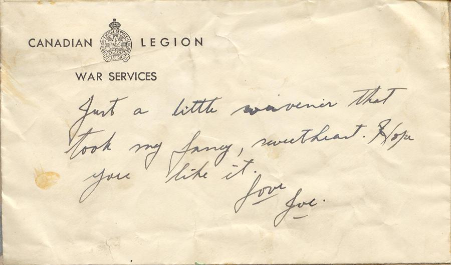 Souvenir Envelope