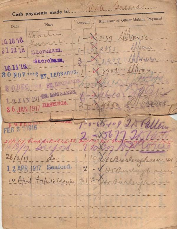 Pay Book, image 3.