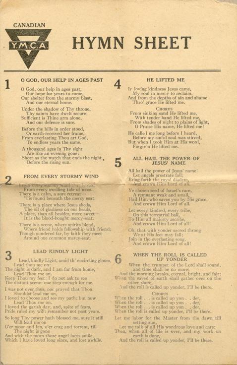 #1 Hymn Sheet
