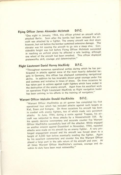Investiture Program, page 11.