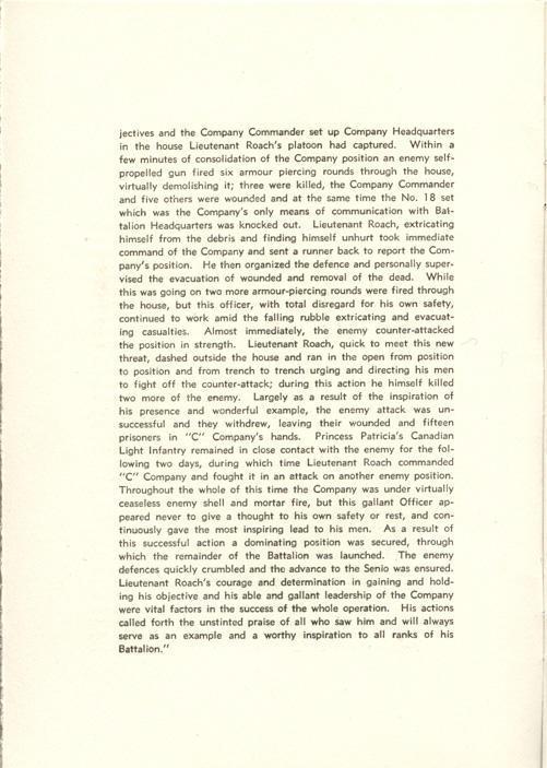 Investiture Program, page 4.