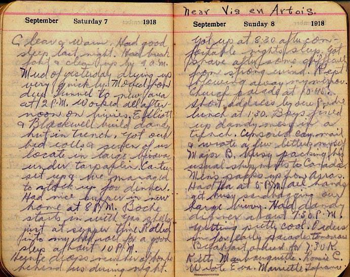 Maharg diary, page 101.