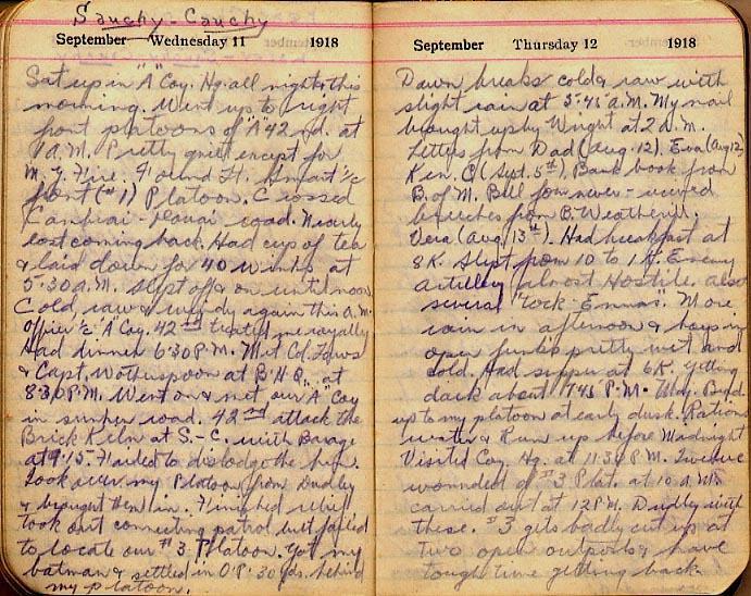 Maharg diary, page 103.