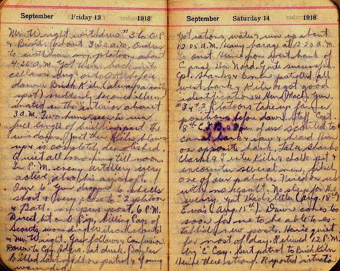 Maharg diary, page 104.
