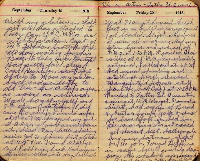 Maharg diary, page 107.