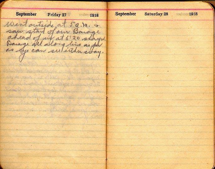 Maharg diary, page 111.