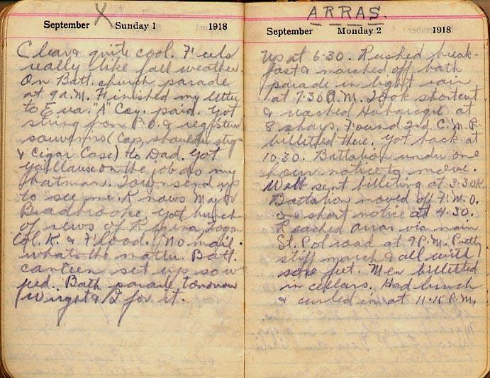 Maharg diary, page 98.