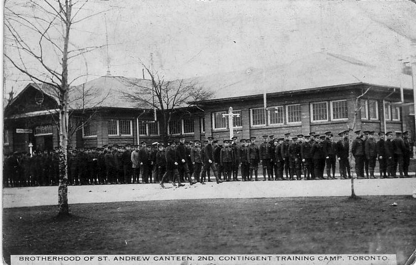 Photo, Training Camp, Toronto, front.