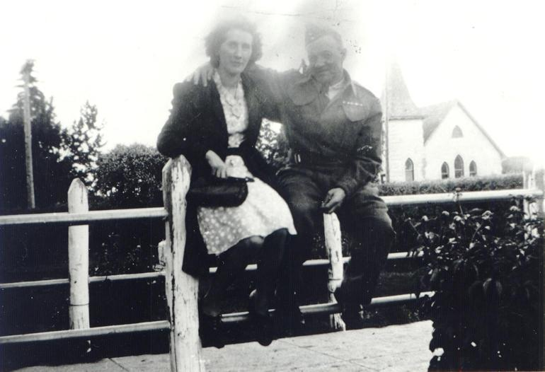 Malcolm Theodore Taylor and Alice Taylor, nd.