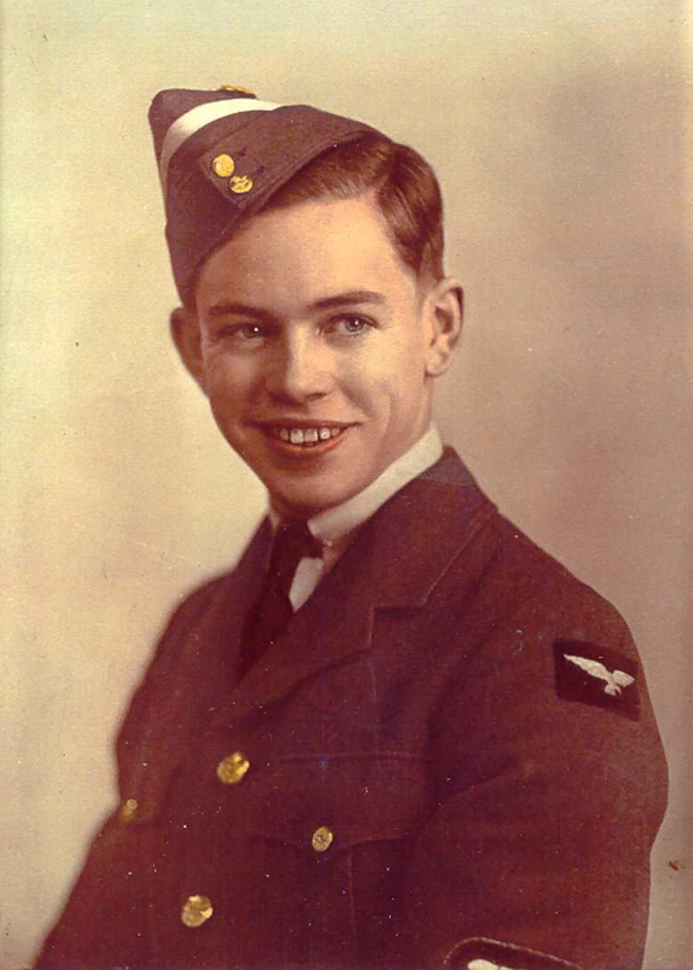 Newton Van Allen in 1940.
