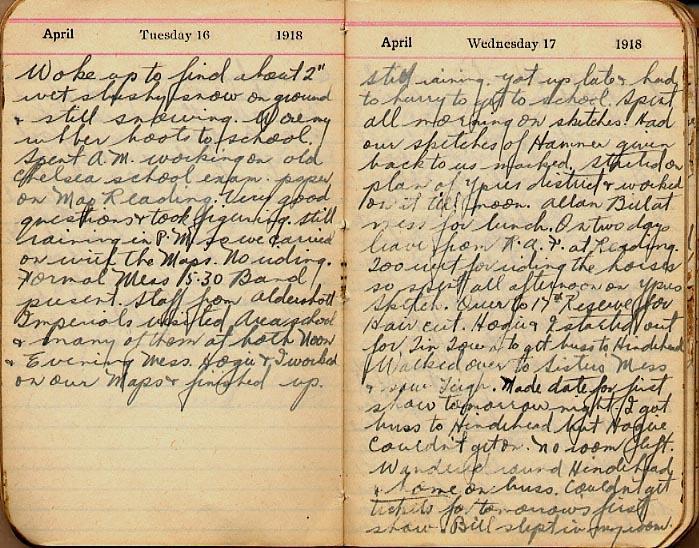 Maharg diary, page 29.