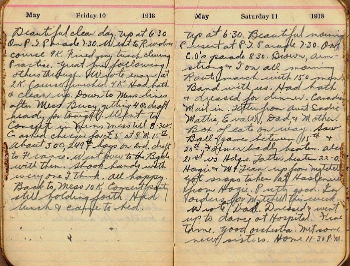 Maharg diary, page 41.