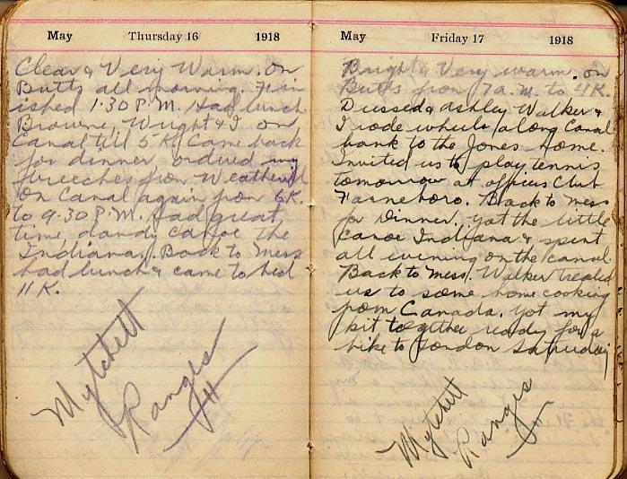 Maharg diary, page 44.