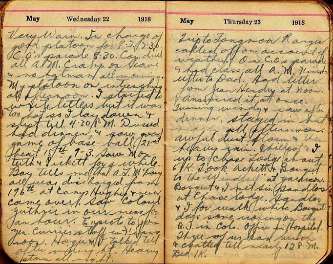 Maharg diary, page 47.