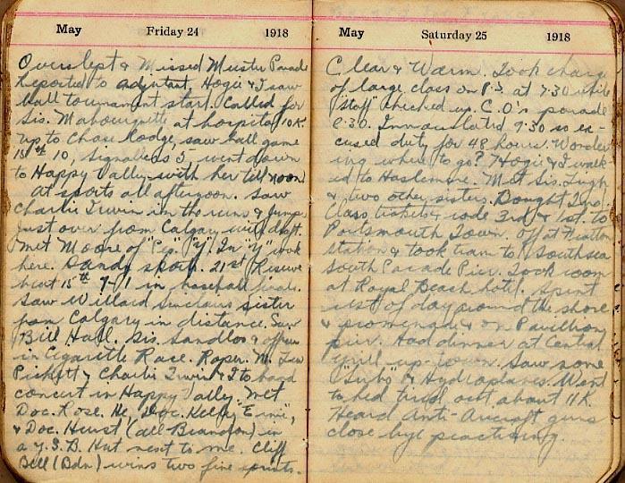 Maharg diary, page 48.