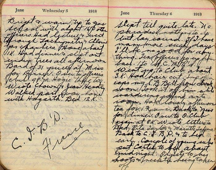 Maharg diary, page 54.