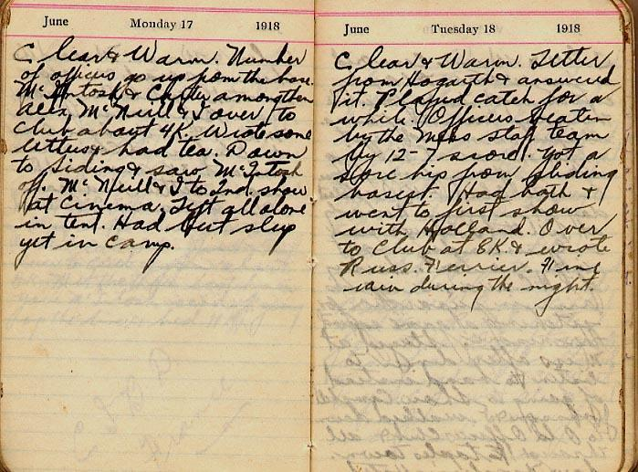 Maharg diary, page 60.
