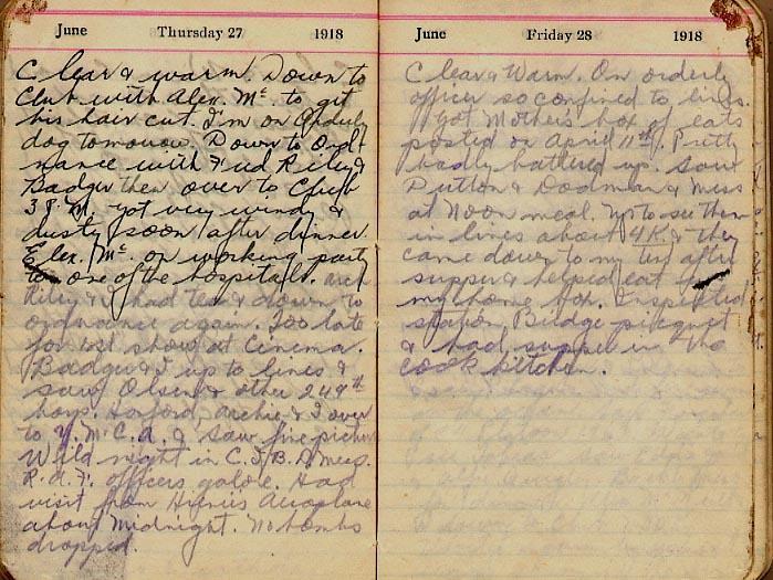 Maharg diary, page 65.