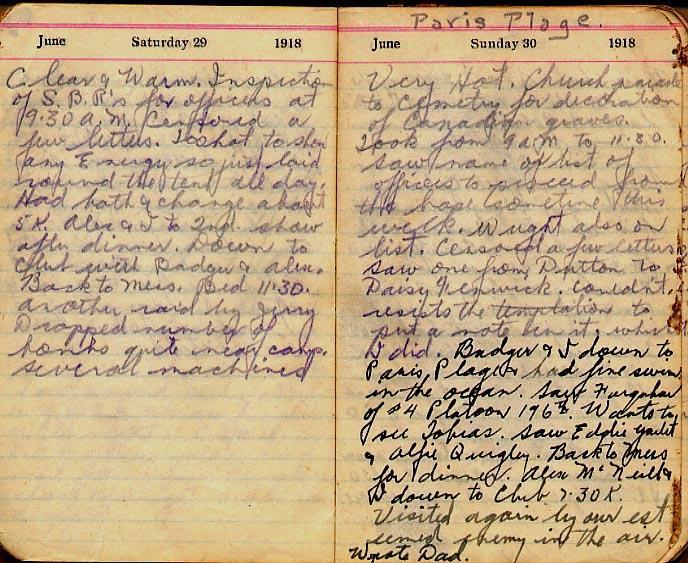 Maharg diary, page 66.