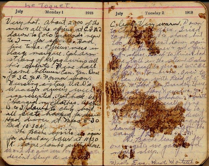 Maharg diary, page 67.