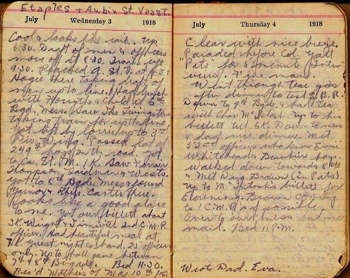 Maharg diary, page 68.