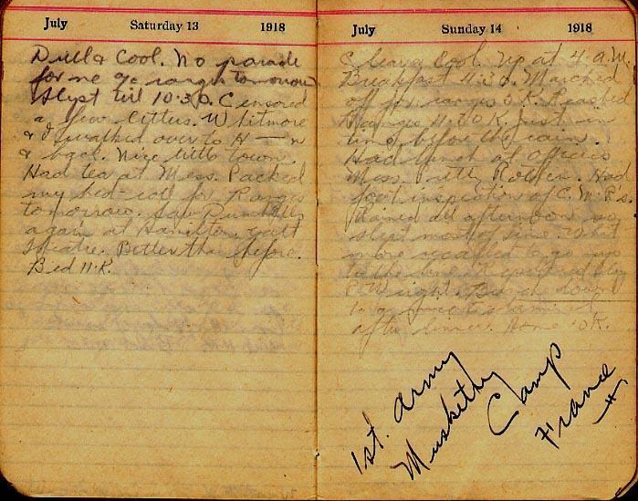 Maharg diary, page 73.